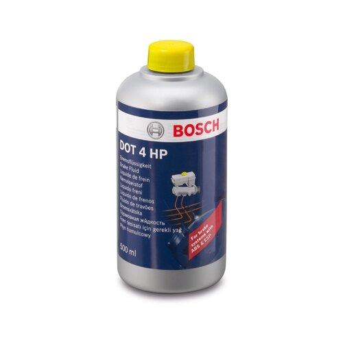 Тормозная жидкость Bosch Dot 4, Brake Fluid HP 0.5 л тормозная жидкость bosch dot 4 brake fluid 1 л