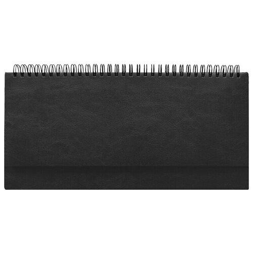 Фото - Планинг Attache недатированный, черный, 290*150, 128 листов, Agenda (556053) планинг attache 129427 недатированный 53 листов синий