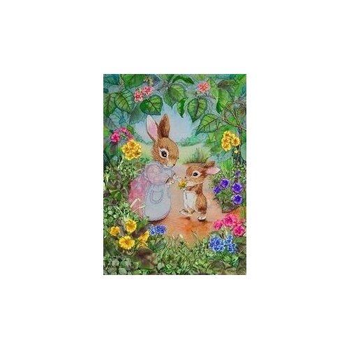 Набор для вышивания Рисуем лентами 057-100 Мамина радость