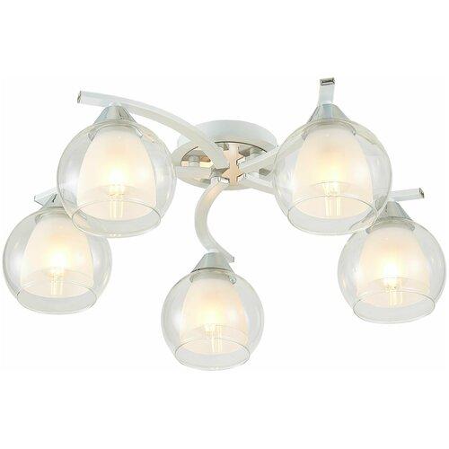 Люстра потолочная Citilux Кристи CL152150 Белый Хром