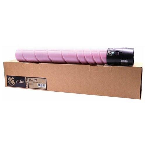 Фото - Тонер-картридж булат s-Line TN-321M для Konica Minolta bizhub C224, bizhub C284 (Пурпурный, 25000 стр.) драм картридж булат s line 034m для canon ir c1225 пурпурный 34000 стр ref