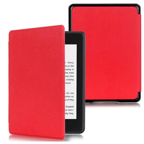 Чехол-обложка MyPads для Amazon Kindle PaperWhite 2018 из качественной эко-кожи с функцией включения-выключения и возможностью быстрого снятия красный