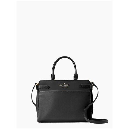 Женская кожаная сумка Kate Spade Staci Leather женская кожаная сумка kate spade natalia leather crossbody cherry