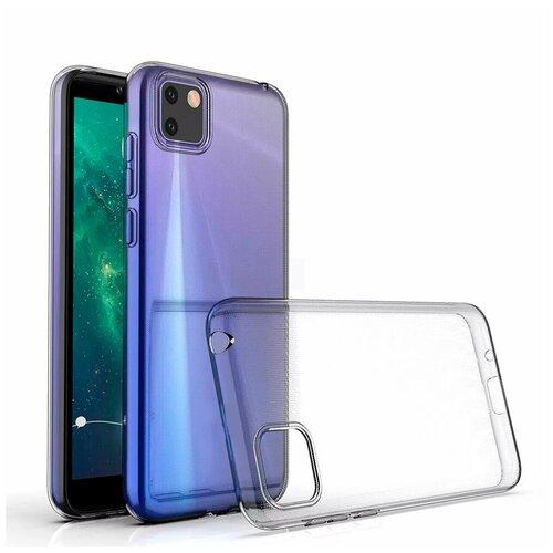 Чехол силиконовый для Huawei Honor 9S Skiico прозрачный Skiico / Чехол для Хуавей Хонор 9С