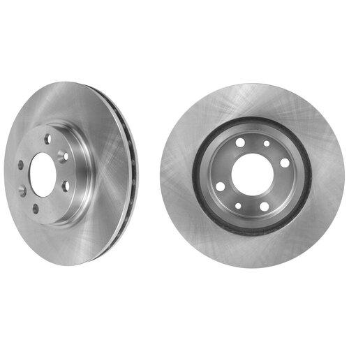 Тормозной диск передний MARSHALL M2000505 для Renault Clio IV (BH) 12-, Renault Logan II (L8) 13-, Renault Sandero/Stepway (B8) 14- // кросс-номер TRW DF6534 // OEM 402063149R; 402062212R; A4534200100; 402063166R; 402066839R