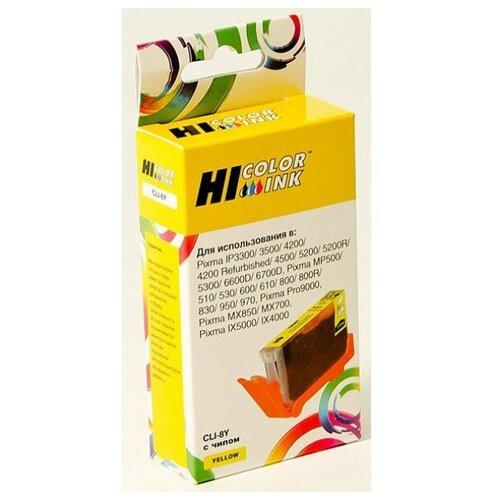 Фото - Картридж Hi-Black (HB-CLI-8Y) для Canon PIXMA iP4200/iP6600D/MP500, Y hi black картридж hi black для canon e 30 fc 200 210 220 230 330 4000стр