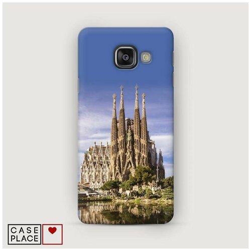 Чехол Пластиковый Samsung Galaxy A5 2016 Храм святого семейства в Барселоне 1