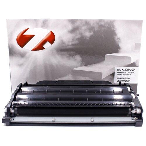 Фото - Тонер-картридж 7Q KX-FAT431A7 для Panasonic KX-MB2230 (Чёрный, 6000 стр.), совместимый тонер картридж easyprint lp 431 для panasonic kx mb2230 2270 2510 2540 2571 6000 стр