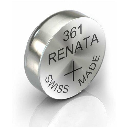 Фото - Батарейка RENATA R 361, SR721W 1 шт. батарейка renata r 384 sr41sw 1 шт