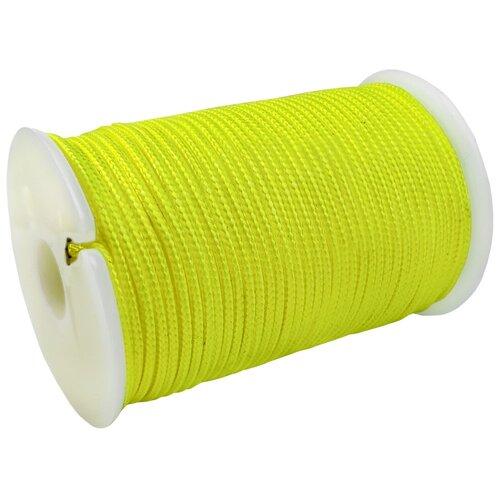 SOLARIS S6302y-neon Шнур полиамидный на катушке 1,8 мм х 40 м, Жёлтый Неоновый