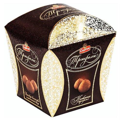 Шоколадные конфеты Трюфели нежные, Спартак, 255 гр.