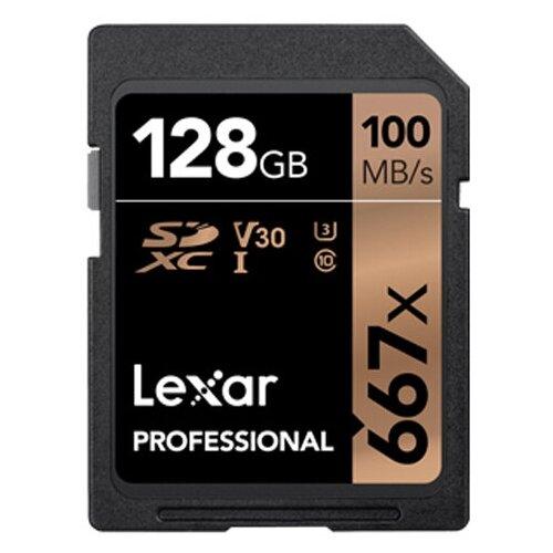 Фото - Карта памяти 128Gb - Lexar Micro Secure Digital XC 667X Class 10 U3 V30 LSD128B667 карта памяти 512gb transcend 300s secure digital xc class