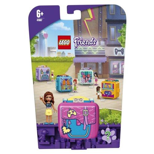 Купить Конструктор LEGO Friends 41667 Кьюб Оливии для игр, Конструкторы