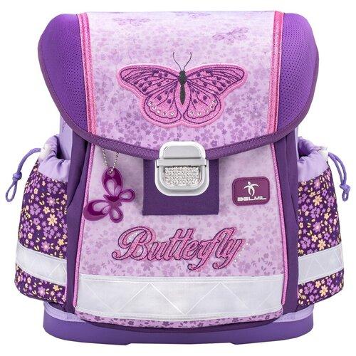 Купить Belmil Ранец школьный Classy Shiny butterfly 403-13/823, Рюкзаки, ранцы
