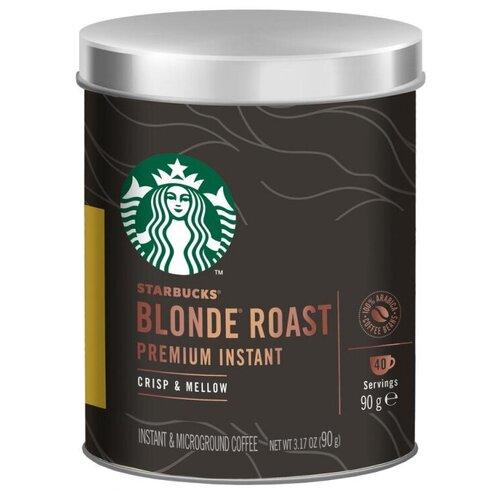 Кофе STARBUCKS растворимый,светлая обжарка, 90г