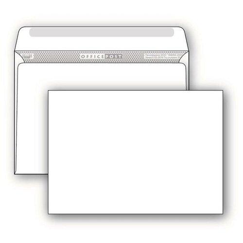 Купить Конверт почтовый C4 Packpost OfficePost (229х324, 90г, декстрин) белый, 50шт., Конверты