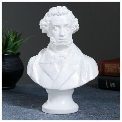 Хорошие сувениры Бюст Пушкин большой белый 22см