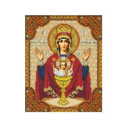 Набор Богородица Неупиваемая Чаша 18х22,5 Русская искусница 345 18х22,5 Русская Искусница 345)