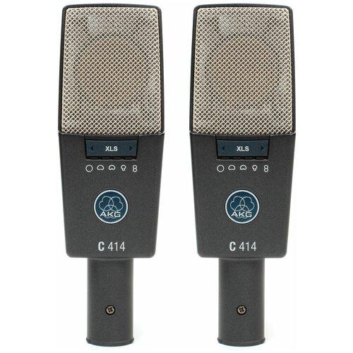 Стереопара микрофонов Akg C414XLS ST