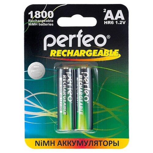 Фото - Аккумулятор Perfeo AA1800mAh/2шт аккумулятор perfeo aa2500mah 2шт