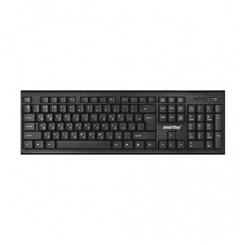 Клавиатура проводная Smartbuy ONE 115 черная (SBK-115-K)/20