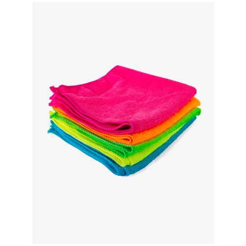 Фото - Набор тряпок из микрофибры Skiico 5 шт. / Салфетки для уборки / Тряпки из микрофибры хозяйственные товары azur салфетки из микрофибры 5 шт