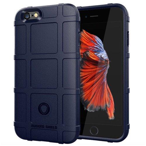 Чехол-бампер MyPads для iPhone 6/ 6S 4.7 (Айфон 6 / 6С) противоударный усиленный ударопрочный синий