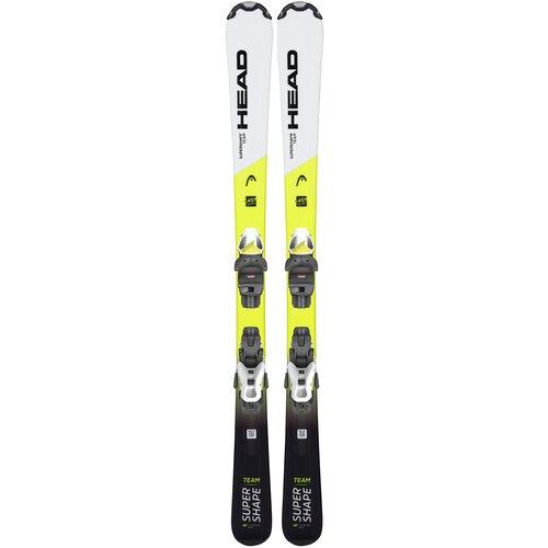 Горные лыжи детские с креплениями HEAD Supershape Team Jrs 7.5 (21/22), 117 см