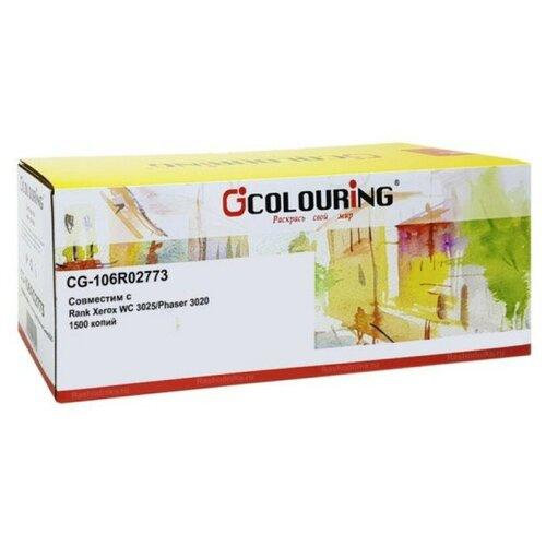 Фото - Colouring Картридж CG-106R02773 для принтеров Xerox Phaser 3020/WorkCentre 3025/3020BI/3025BI/3025NI (для аппаратов, выпущенных до 01.07.2017) 1500 копий Colouring принтер xerox phaser 3020bi белый