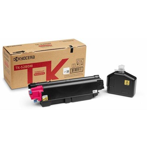 Фото - Картридж лазерный Kyocera TK-5280M (P6235cdn/M6235cidn/M6635cidn (11000 стр.)) purple картридж лазерный kyocera tk 160