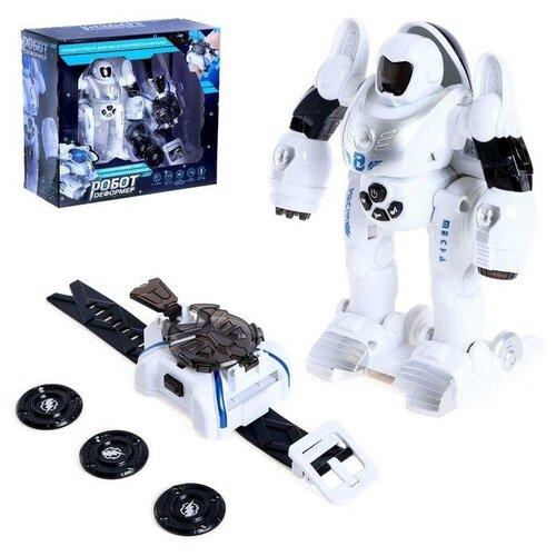 Купить Робот Робот деформер , с наручной катапультой, световые и звуковые эффекты 6783222, Zhorya, Роботы и трансформеры
