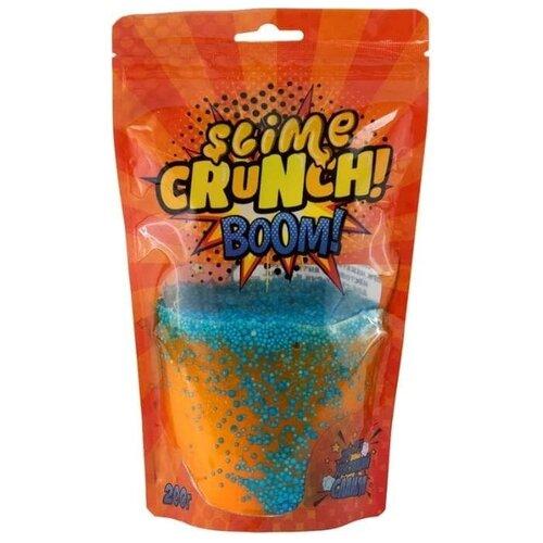 Лизун Slime Crunch BOOM (Апельсин)