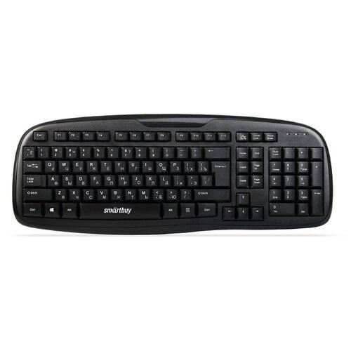 Клавиатура проводная Smartbuy ONE 116 черная (SBK-116-K)/20