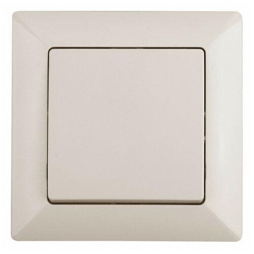 Intro 4-101-02 Intro Выключатель, 10А-250В, СУ, Solo, сл.кость (10/200/2400)