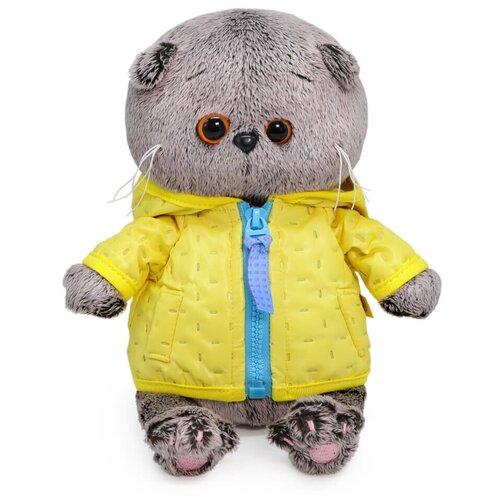 Фото - Budi Basa Мягкая игрушка Басик Baby в стеганой курточке, 20 см игрушка мягкая budi basa басик baby в шапке панда 20 см bb 070