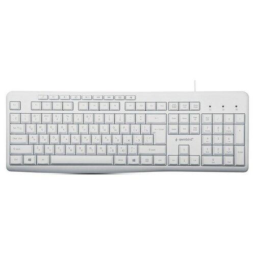 Клавиатура Gembird KB-8430M, USB, белый