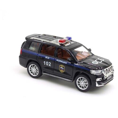 Модель машины TY YX24101P ФСБ Прада Черный 20*6,5 см.