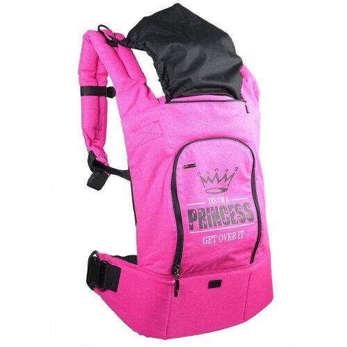 Купить Эргорюкзак I Love Mum Лайт, розовый/принцесса, Рюкзаки и сумки-кенгуру