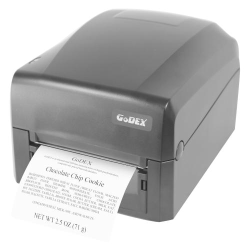 Фото - GODEX GE300U, термотрансферный принтер этикеток, 203 dpi, (полдюймовая втулка риббона),USB (011-GE0A22-000) godex g530 use