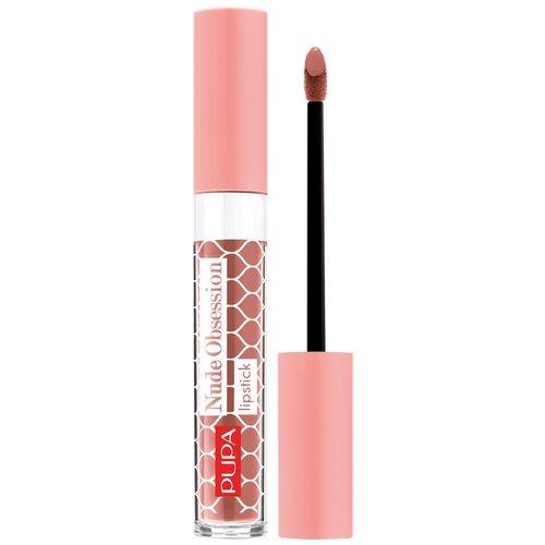 Купить Pupa Жидкая помада для губ Nude Obsession, оттенок 004 Rose Corset