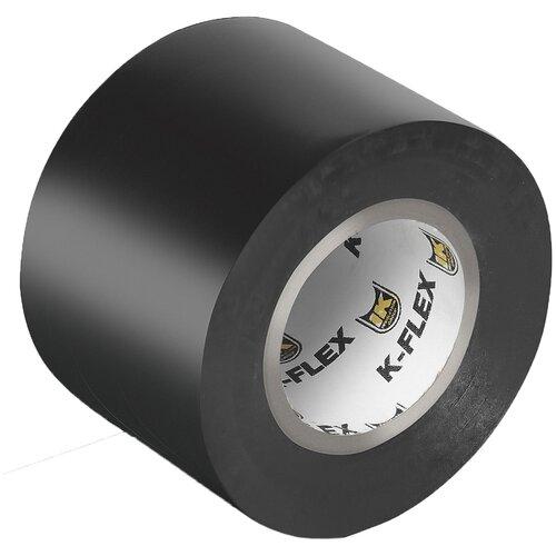 Изолента герметизирующая черная 130 микрон K-FLEX 050-025 PVC AT 070 черная, 50 мм*25 метров теплоизоляция для труб k flex каучук 54х13х2000 мм черная
