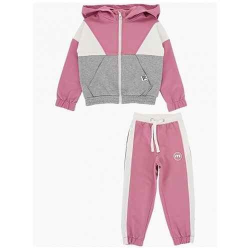Спортивный костюм Mini Maxi размер 116, темно-розовый