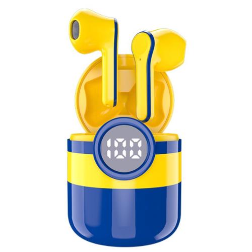 Детские беспроводные наушники SZX, V5.0, Миньоны, Yellow