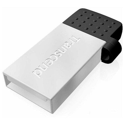 Флеш-накопитель USB 16GB Transcend JetFlash 380S (USB+microUSB) for Android smartphones