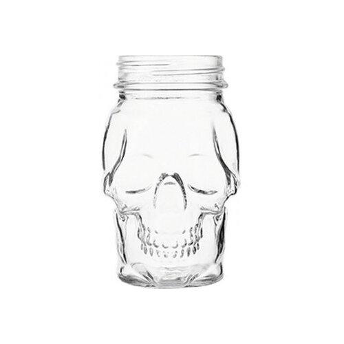 стакан для коктейлей tiki череп 350 мл Probar Стакан для коктейлей Череп, 420 мл прозрачный