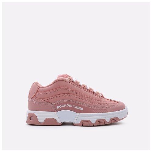 Кроссовки DC размер 6.5, розовый
