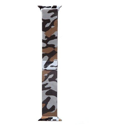 Аксессуар Ремешок Bruno для APPLE Watch 38/40mm Milano Camouflage 1029 аксессуар ремешок bruno для apple watch 38 40mm milano black red b20527