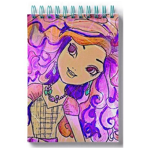 Блокнот для зарисовок, скетчбук Нарисованная кукла