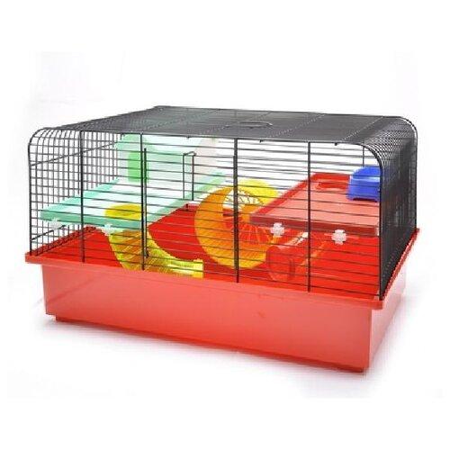Benelux аксессуары клетка для хомяков марлен 49 * 32,5 * 29 см (cage for hamsters marlene funny) 35121, 4,000 кг