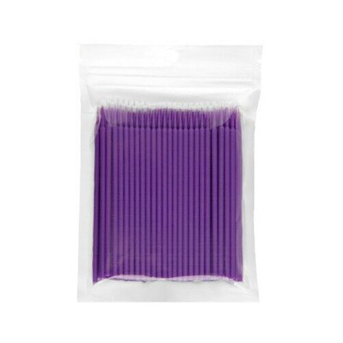 Купить IRISK PROFESSIONAL Irisk, микрощеточки в пакете (размер S, фиолетовые), 100шт